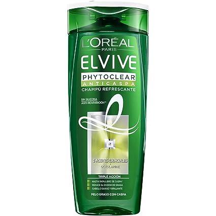 a497441128d L Oréal Paris Elvive Champú Phytoclear Anticaspa 370 ml - Cabello graso