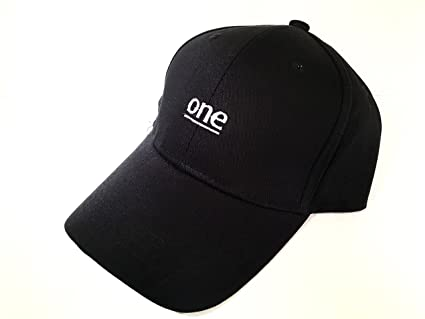 Amazon.com   New Black ONE 6 God Buckle Back Dad Hat Cap Adult Sz ... cc5c98f689d