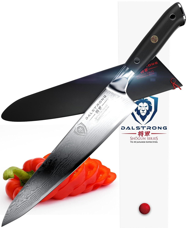 amazon com dalstrong chef knife shogun series gyuto vg10 amazon com dalstrong chef knife shogun series gyuto vg10 9 5