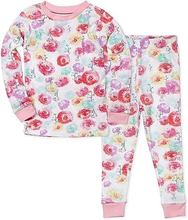 HonestBaby Baby Girls Organic Cotton Puff Sleeve T-Shirt Multi-Packs Toddler Set
