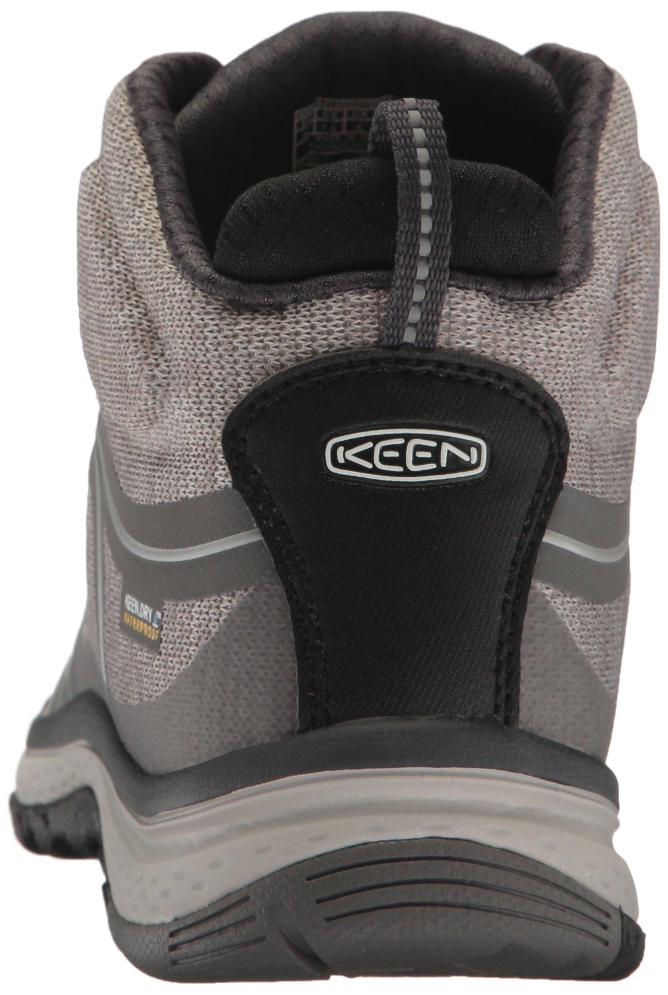 KEEN Women's Terradora Mid Waterproof Hiking Shoe, Gargoyle/Magnet, 9 M US by KEEN (Image #2)