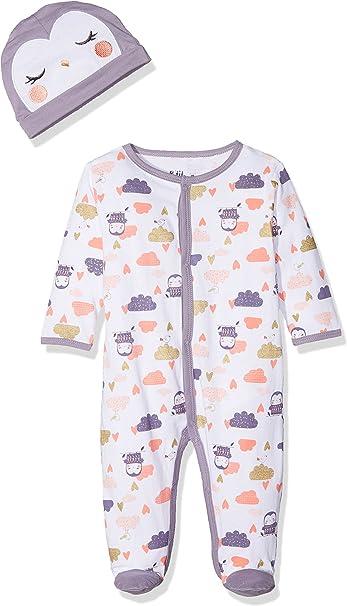 Dodo Homewear Baby-M/ädchen Strampler