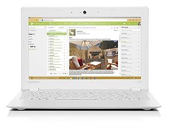 Lenovo Ideapad 100S 11 6-Inch HD Laptop (White) - (Intel Atom Z3735, 2 GB  RAM, 32 GB HDD, Intel HD Graphics, Windows 10)