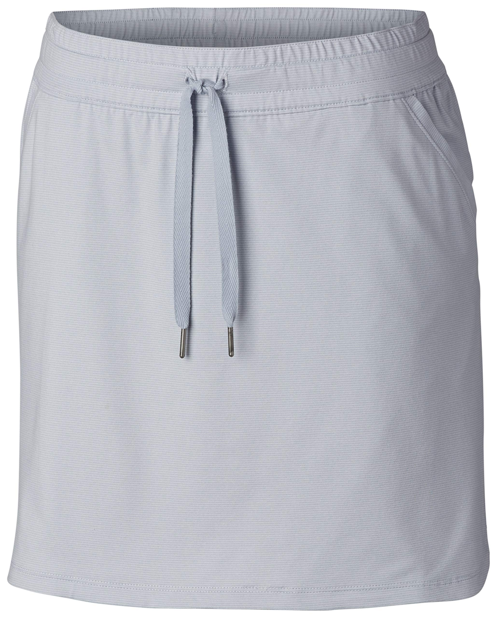 Columbia Women's Reel Relaxed Skirt, Cirrus Grey, X-Large by Columbia