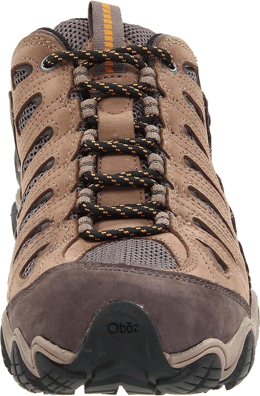 oboz men's sawtooth low bdry hiking shoe