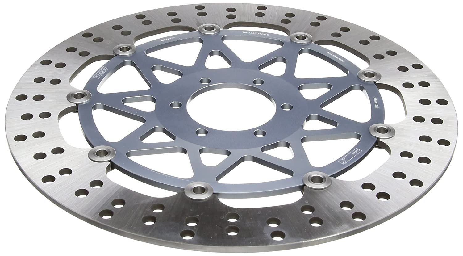 TRW MSW211 Motorcycle Brake Disc Floated