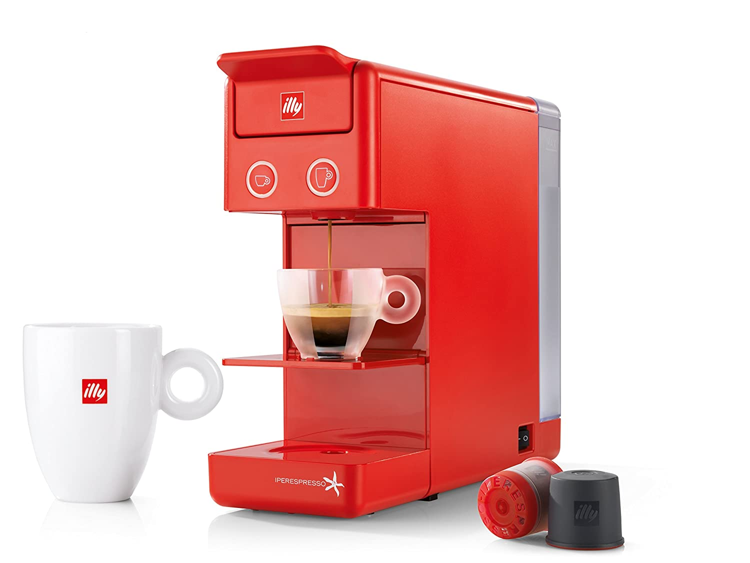 illy Y3.2 iperEspresso and Coffee Machine, Black 60296