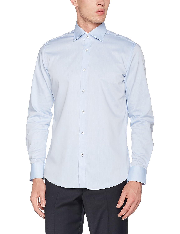 TALLA 38. CARL GROSS CG Sv-Modern, Camisa de Oficina para Hombre