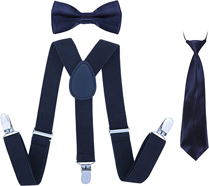 Juego de Suspender corbatas para corbatas de los niños - Juego de ...
