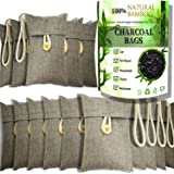 wyewye Activated Bamboo Charcoal Air Purifying Bags for Car Closet Shoe Home Basement Odor Eliminator Shoe Deodorizer 15Packs