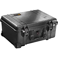 Pelican 1560-001-110 Waterproof Case without Foam (Black)