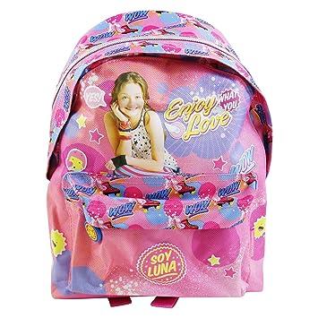 Disney Soy Luna Enjoy Love Mochila Bolso Escolar Guarderia Tiempo Libre Ninos: Amazon.es: Equipaje