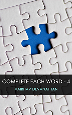 Complete Each Word - 4