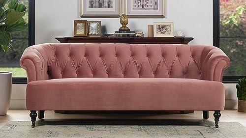 Jennifer Taylor Home Sofa, Ash Rose