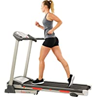 Sunny Health & Fitness Exercise Treadmill, Motorized Running Machine for Home with Folding, Easy Assembly, Sturdy…
