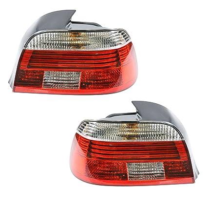 Amazon Rear Taillight Taillamp Pair Set For BMW E39 525i 530i