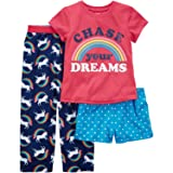 Carter's Girls' 4-14 3-Pc. Unicorn Chase Your