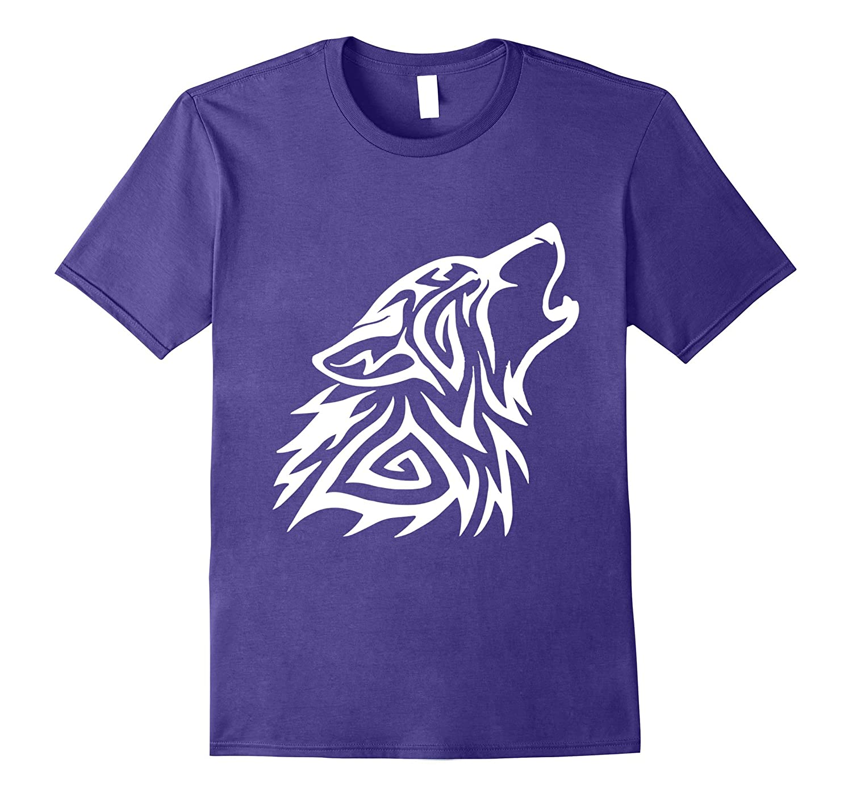 Fenrir Wolf Howl Odin T Shirt Nordic Valhalla Viking Mjolnir-TH