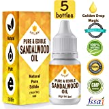 Apurv Pure and Edible Sandalwood Oil - 30 Ml - 100% Edible Grade Oil for Skin, Hair and Body - INTRODUCTORY OFFER