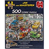 Jan Van Haasteren Car Respraying Shop 500 Pce Puzzle