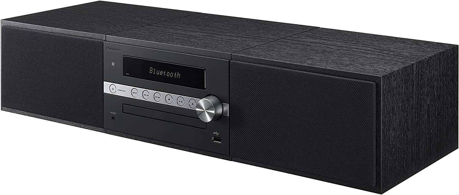 Pioneer X-CM56B Mini Stereo System with Built-in Bluetooth (Black)