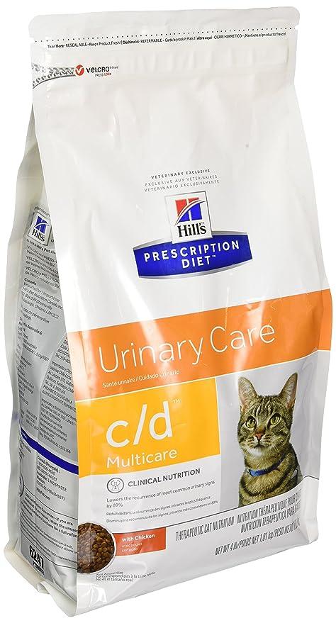 non prescription low phosphorus cat food. Hills C/D Multicare Bladder Health Cat Food 4 Lb Non Prescription Low Phosphorus Y