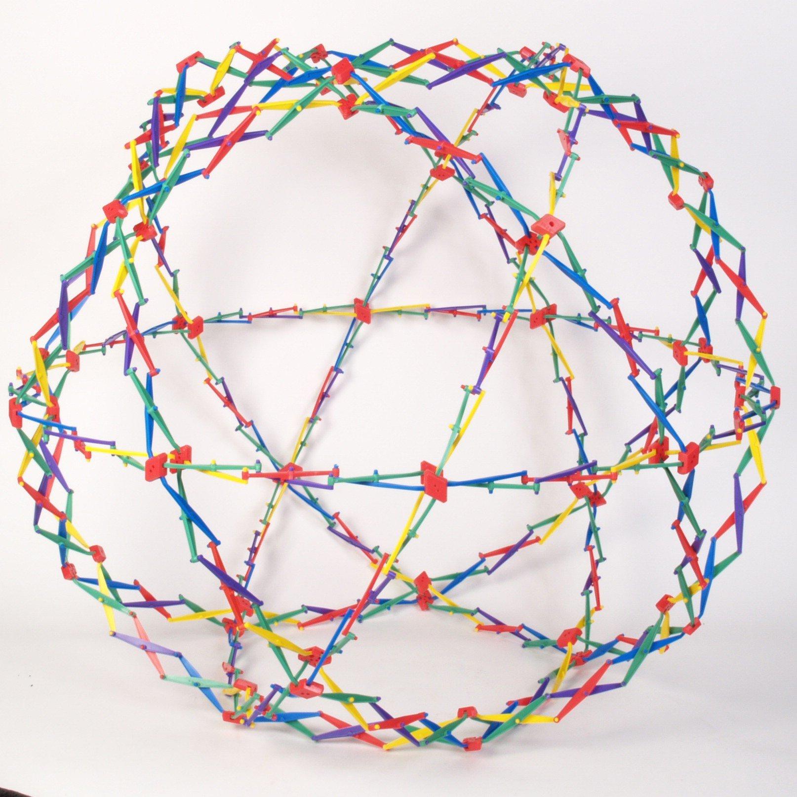 Original Hoberman Sphere--Rainbow (Discontinued by manufacturer) by Hoberman (Image #2)