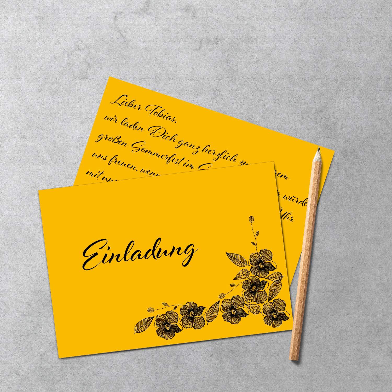 FarbenFroh 240 g//m2 50 Bogen 12-Honiggelb Cartoncini in formato DIN A5
