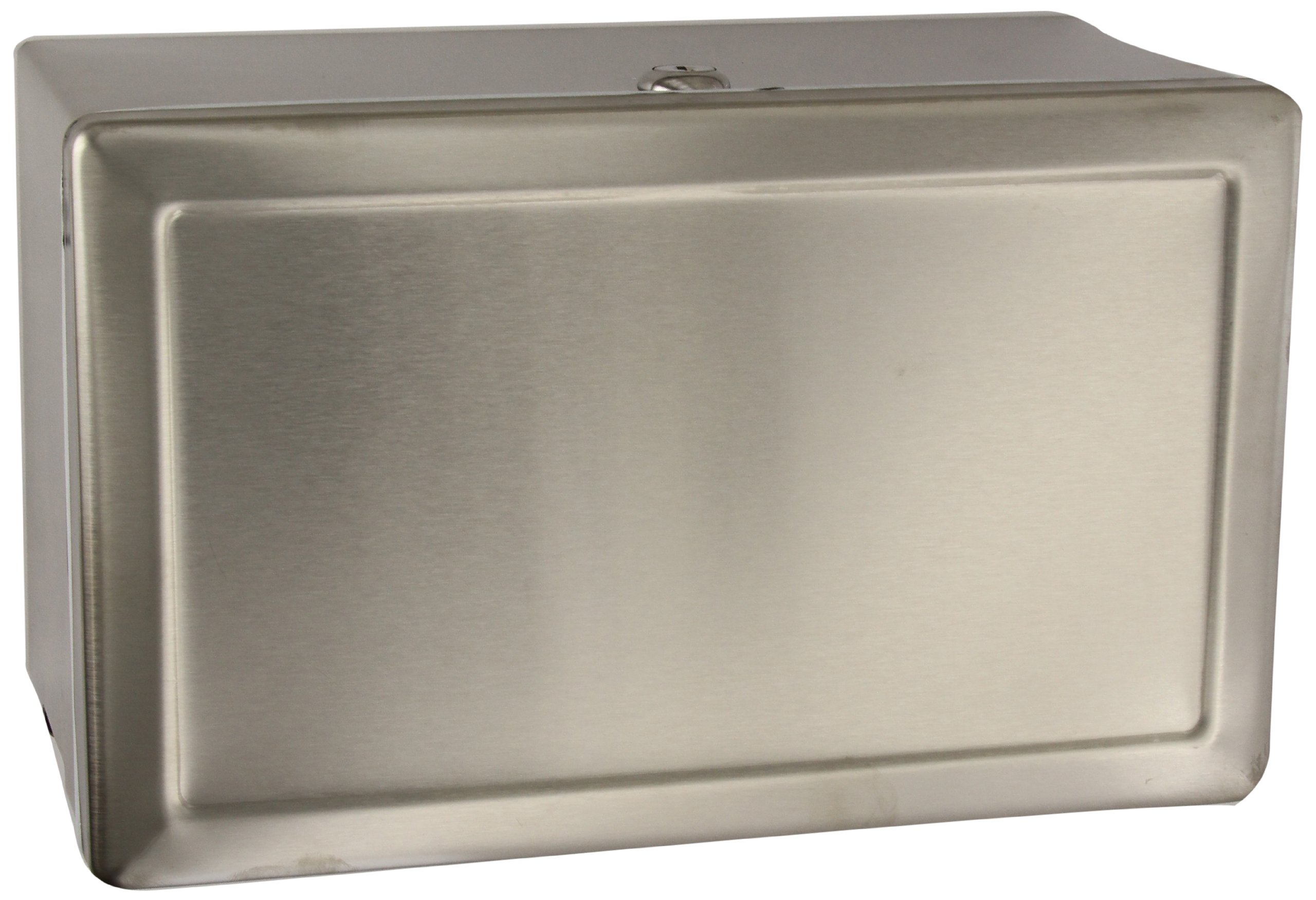 Bobrick B-263 Stainless Steel Surface-Mounted Paper Towel Dispenser