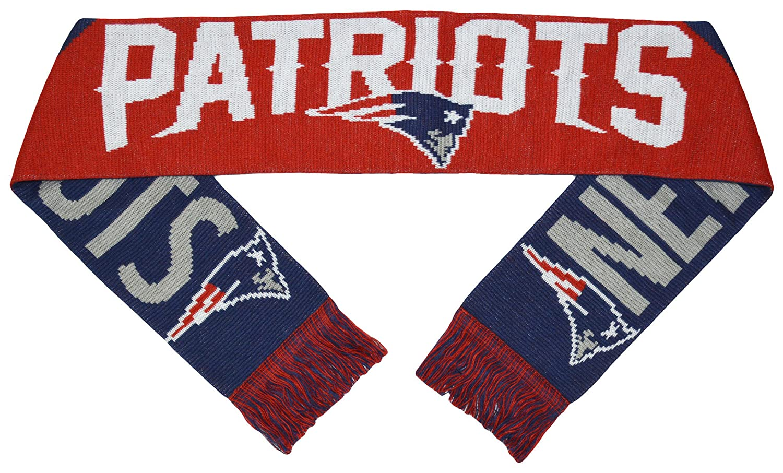 Patriots Big Logo Jacquard Jersey Scarf