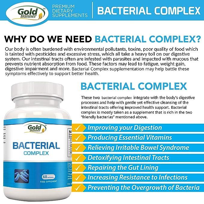 Complejo bacterianos avanzado que fomenta la flora ...