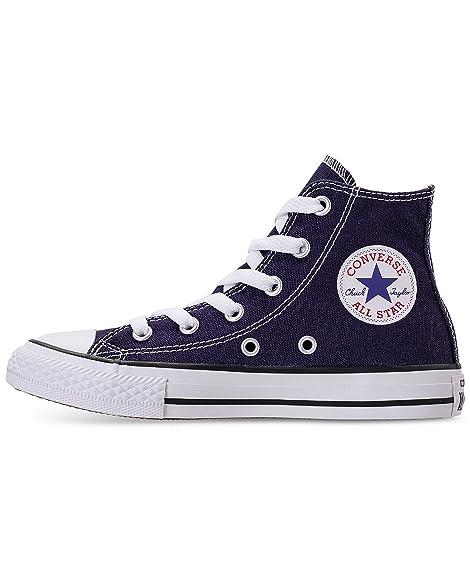 80349b9c8a0c Converse Kids  Chuck Taylor All Star Seasonal High Top Midnight Indigo Kids  Shoes  Amazon.ca  Shoes   Handbags