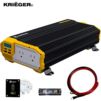 Krieger 2000 Watts Power Inverter 12V to 110V