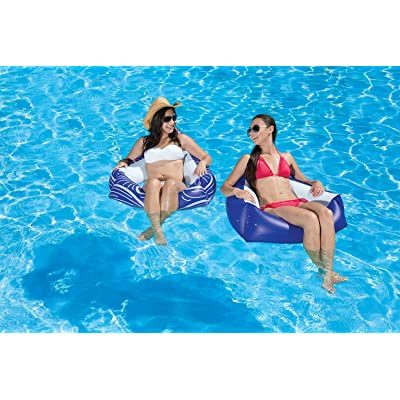 Poolmaster Catalina Chair Swimming Pool Float, 2 Pack: Toys & Games