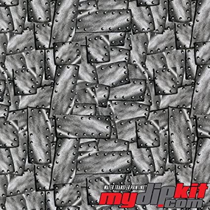 Hydro Dipping M-140 Riveted Metal Hydrographic Film Water Transfer Printing Film