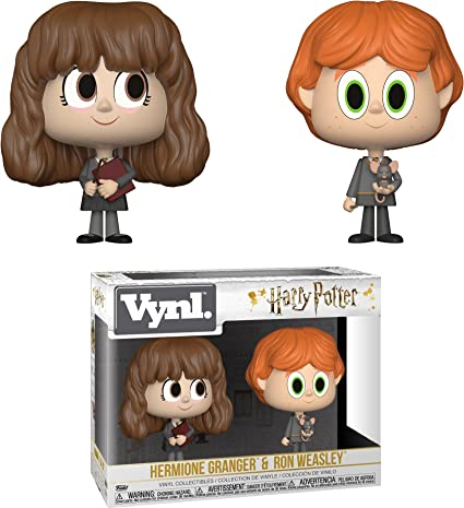 30001 Funko Ron Weasley /& Hermione Granger: Harry Potter x Vynl 1 Official Harry Potter Trading Card Bundle Vinyl Figure Set BCC94V942