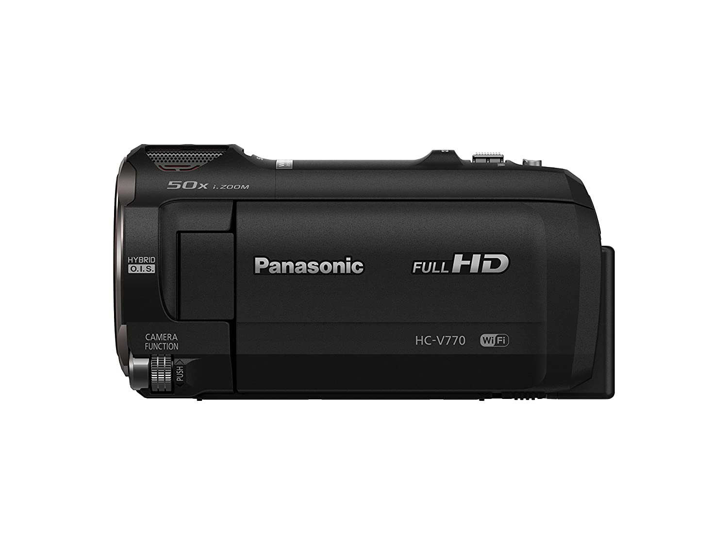 Amazon.com : Panasonic Full HD Camcorder HC-V770, 20X Optical Zoom on