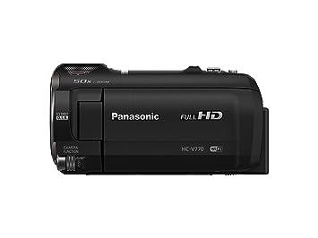 Panasonic Full HD Video Camera Camcorder HC-V770, 20X Optical Zoom,  1/2 3-Inch BSI Sensor, HDR Capture, Wi-Fi Smartphone Multi Scene Video  Recording