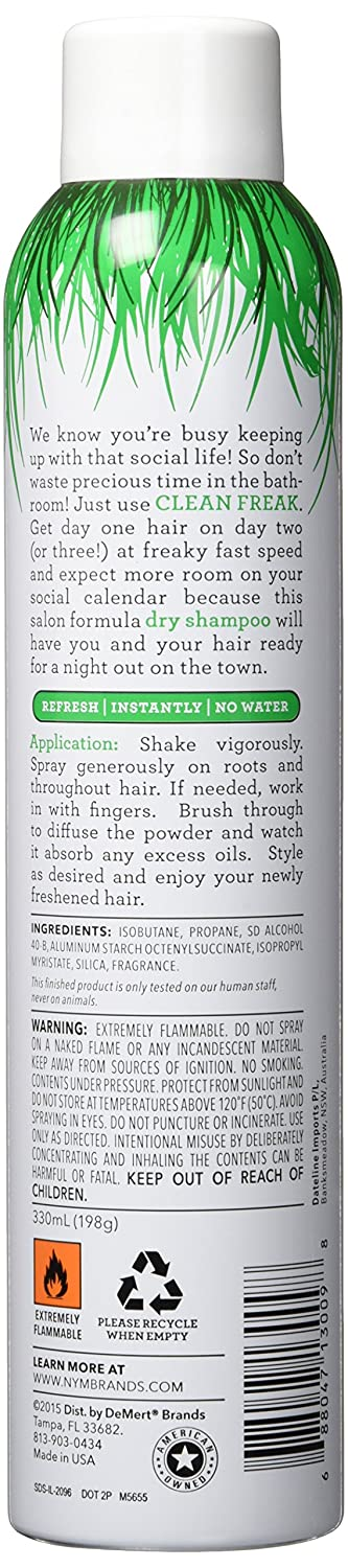 Amazon com: Not Your Mothers Dry Shampoo Clean Freak 7 Ounce