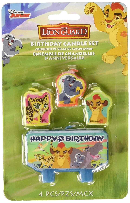 Disney Velas de cumpleaños de la Guardia de León (Paquete de ...