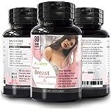 Pueraria Mirifica Capsules Breast Growth Pills - Natural Breast Enhancement Pills for Women , 90 Veg Breast Enlagement…