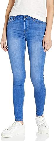 Celebrity Pink Jeans Womens Infinite Strch by Celebrty Pink Jnr's Shrt Inseam Midrise Periwinkle Skinny Jean Jeans
