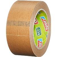 tesapack Papier ecoLogo Verpakkingstape - Plakband voor gebruik met of zonder handafroller - Milieuvriendelijke tape…