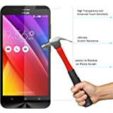 Zenfone Max Tempered Glass, DMG 2.5D 9H Tempered Glass for Asus Zenfone Max (Bubble-Free No Fingerprints Anti-Scratch Oil Coated Washable)