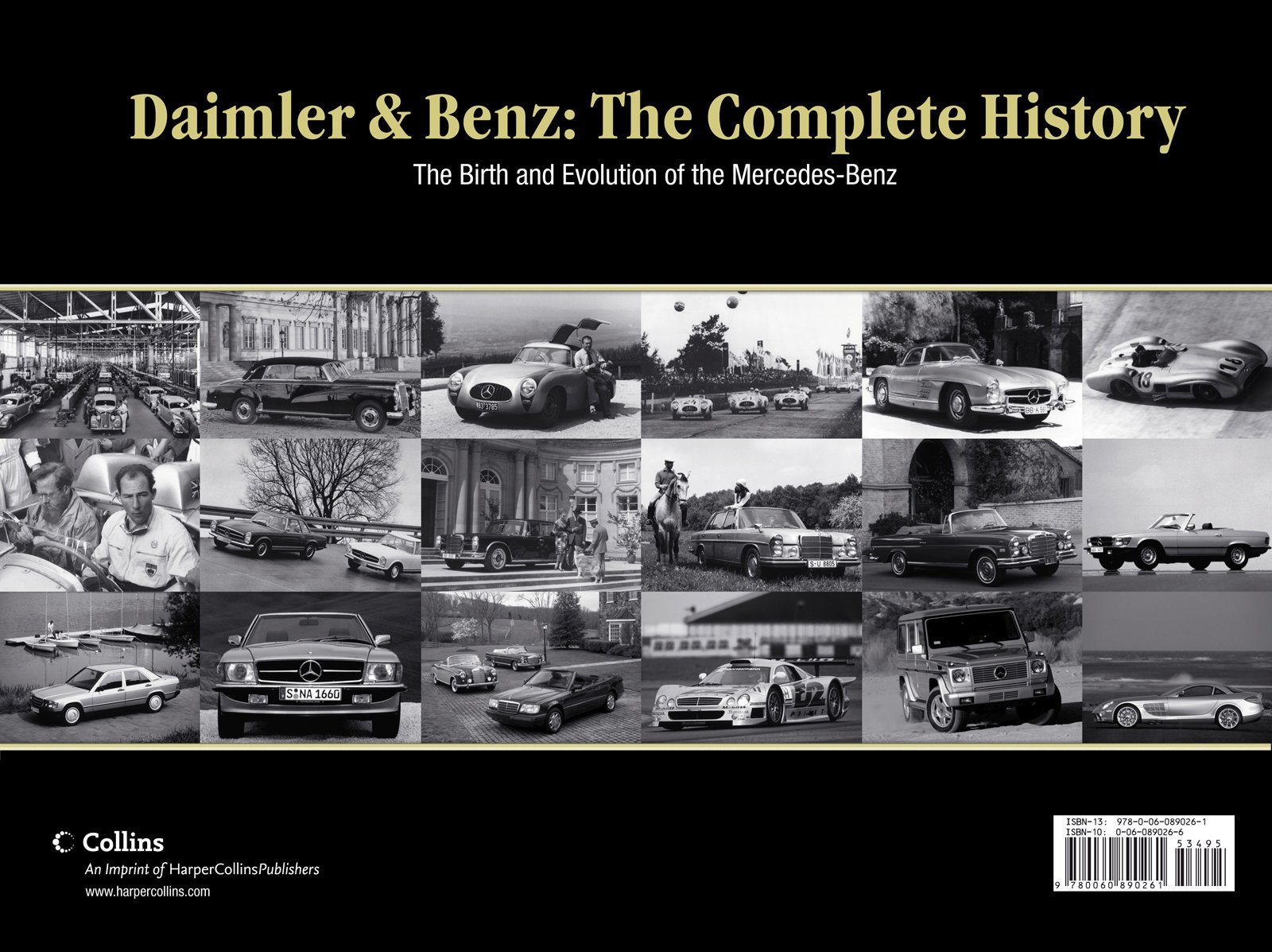 Attractive Daimler U0026 Benz: The Complete History: The Birth And Evolution Of The  Mercedes Benz: Dennis Adler: 9780060890261: Amazon.com: Books