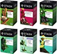 Stash Tea Green Tea Six Flavor Assortment, 18-20 Count Tea Bags in Foil (Pack of 6), 114 Piece Assortment