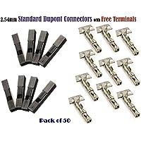 2,54mm 1P Pitch Dupont Jumper alambre cable conector