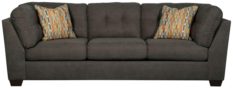 Amazon.com: Ashley Muebles Delta City sofá de microfibra en ...
