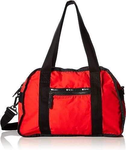 LeSportsac Women s Flight Bag, Classic Red