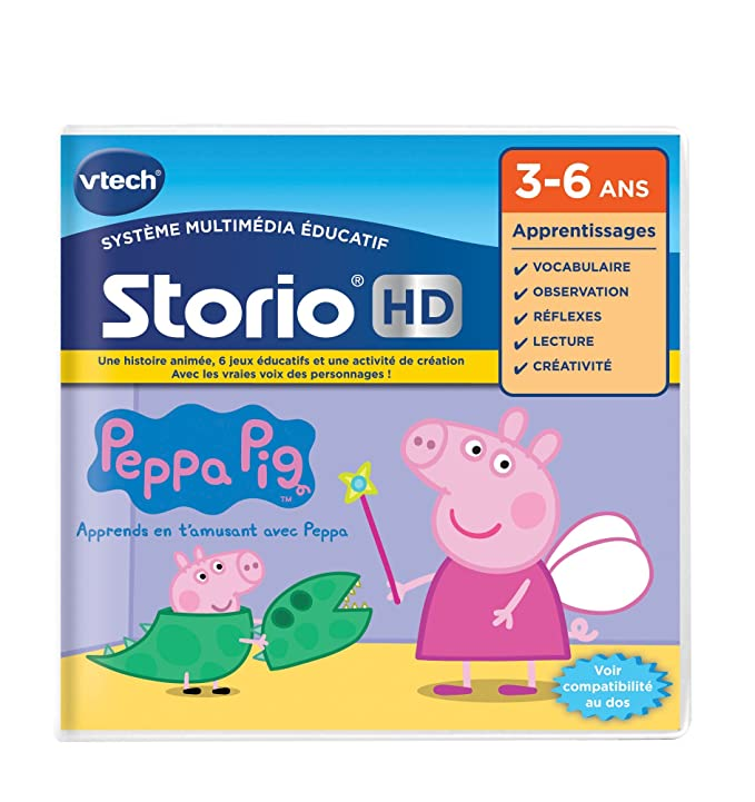 Amazon.com: VTech Storio - 273405 - Juego Hd - Peppa Pig ...